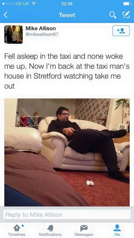 Nice guy taxi driver - meme