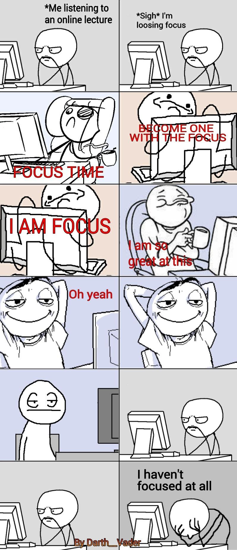 Focus - meme