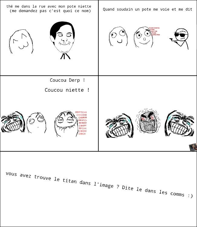 Blague pourrie xD (coucouniette) - meme