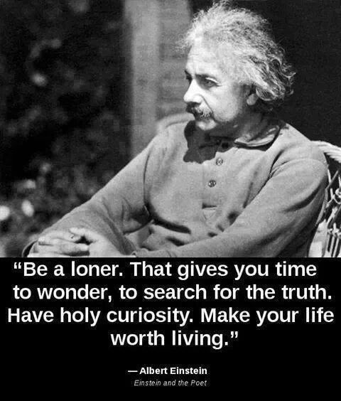 Be a loner. - meme