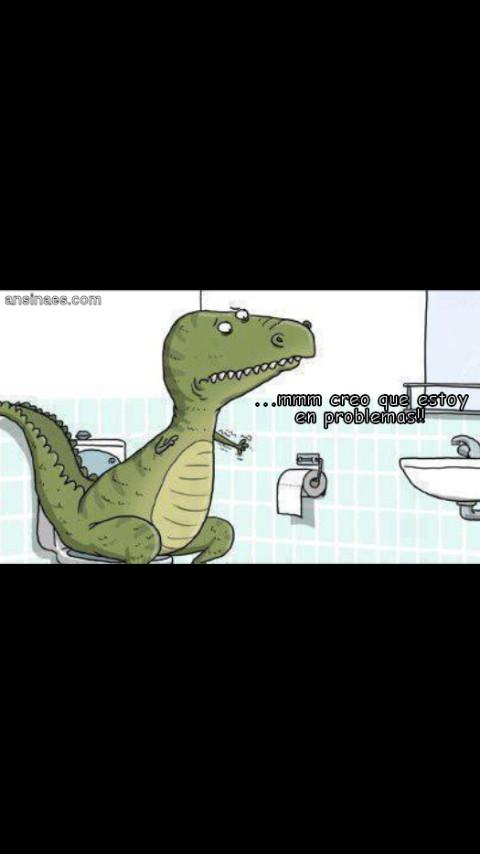 Pobre t-rex - meme