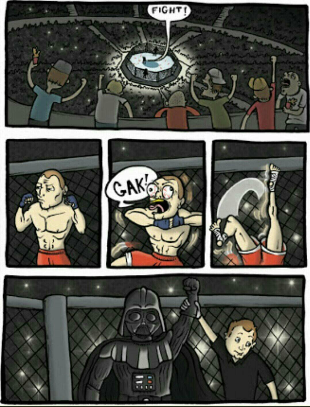 Darth Vader wins, follow victory! - meme