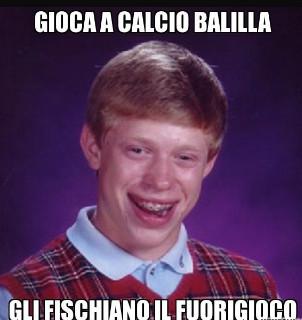 Calcio ballila - meme