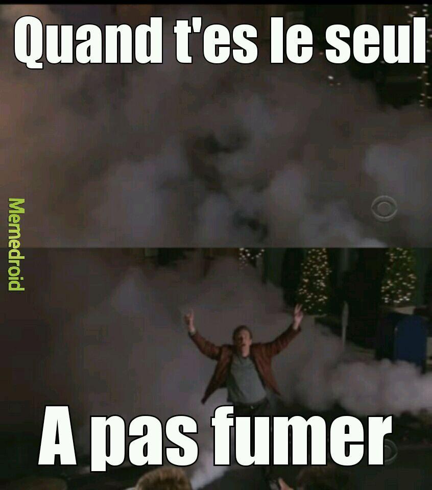 Non fumeur - meme