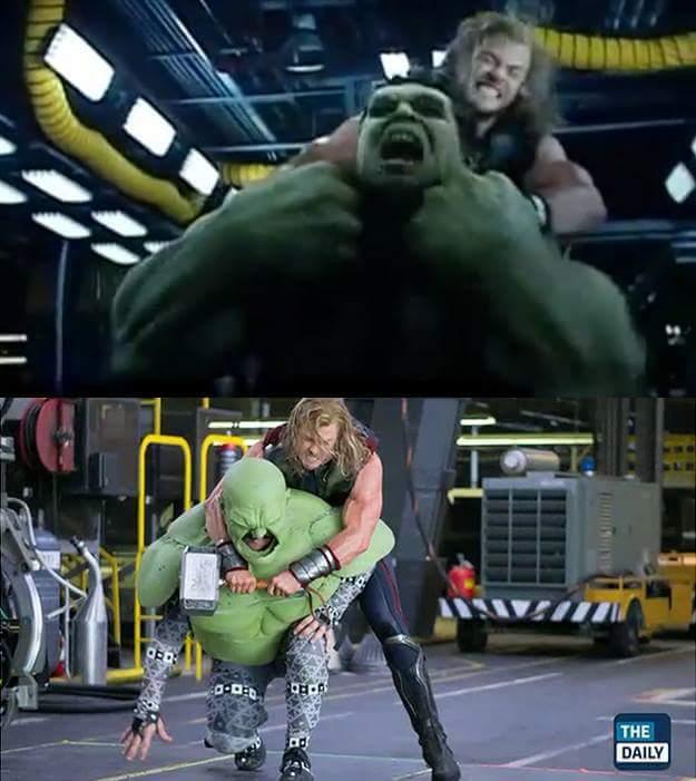 Segura o hulk! - meme