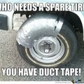 why replace when you have duct tape