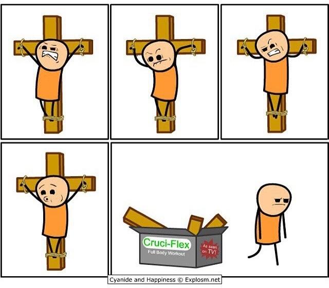 Jesus, do you even lift? - meme