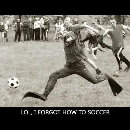 Scuba Soccer? - meme