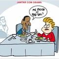 Dilma no jantar com o Obama