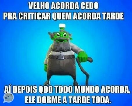 velhos - meme