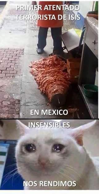 Los tacos wey :'( - meme
