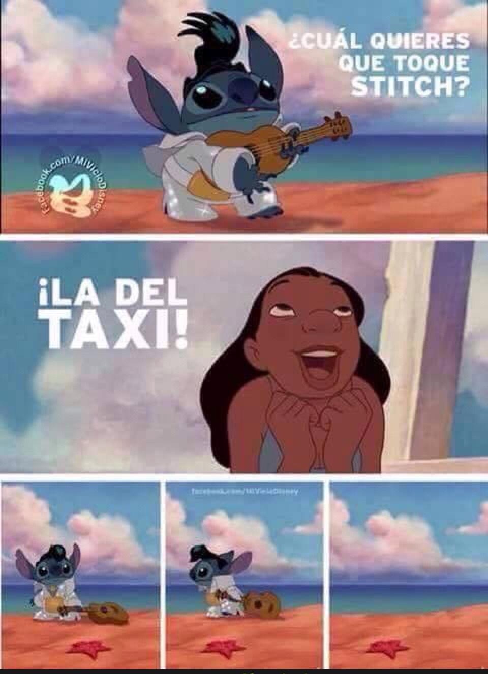 la del taxi - meme