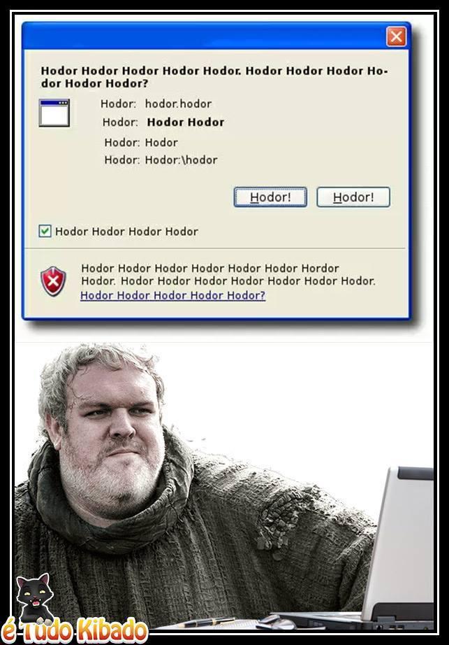 Hodor! - meme