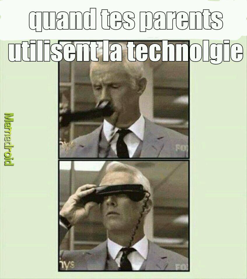 triste réalité, même si la technologie est plis avancée maintenant - meme
