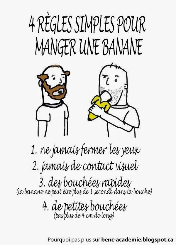 Manger une banane  - meme