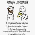 Manger une banane