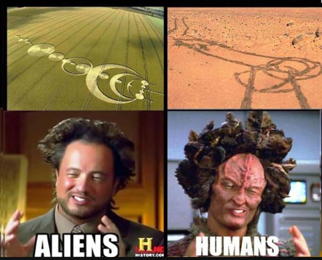 Aliens... humanos tambien... - meme