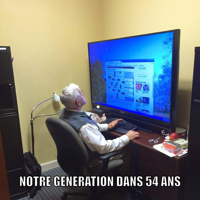 Generationnel - meme