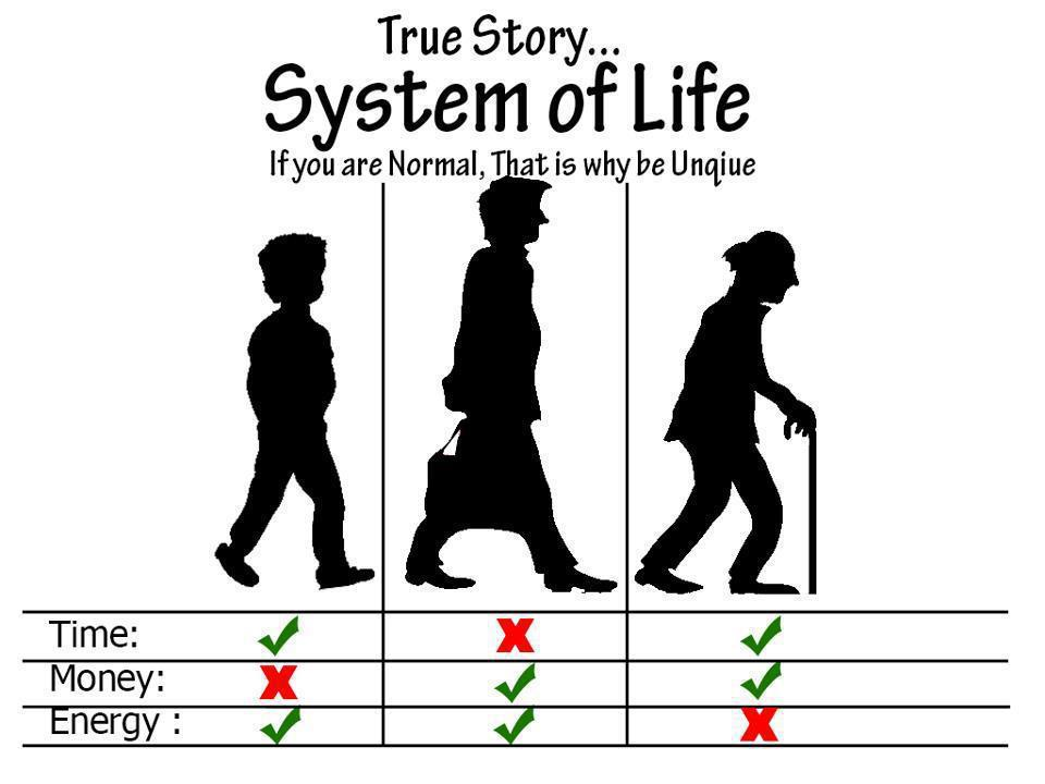 System of life - meme