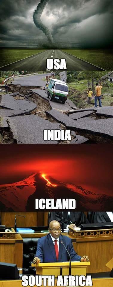 Disasters - meme