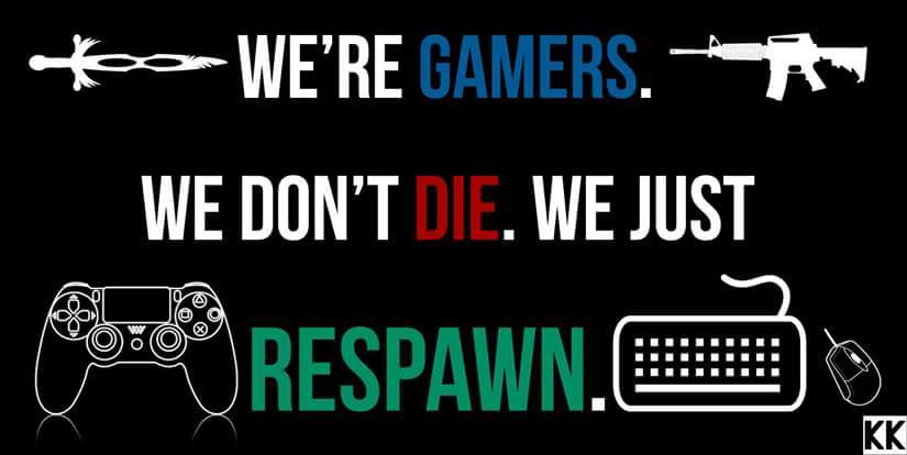 I'll respawn don't worry - meme