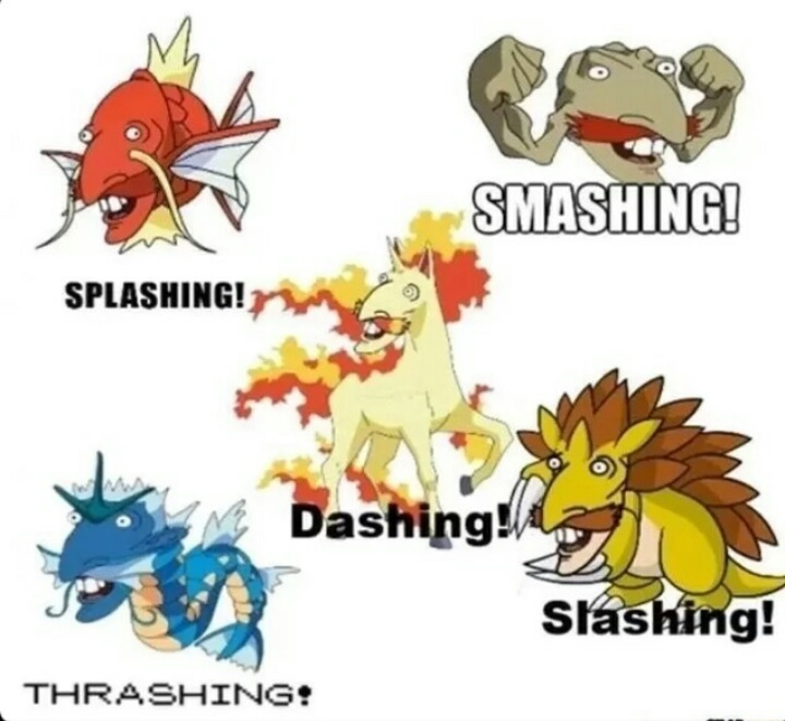 Pokemon title............. - meme