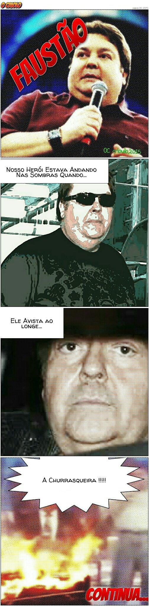 Faustao comics - meme