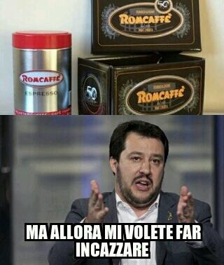 La romcaffè è l'azienda romagnoli caffè cito tuononno666 - meme
