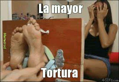 La mayor tortura - meme