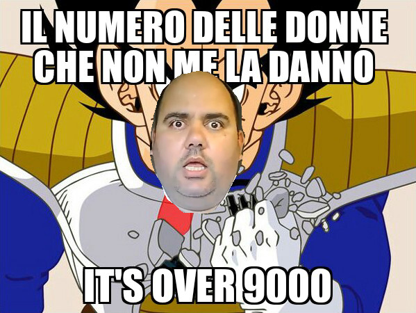 Over 9000 - meme
