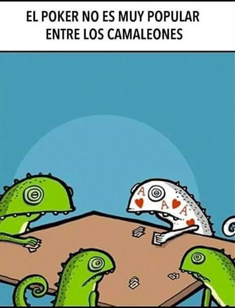 deaventajas del camaleón - meme