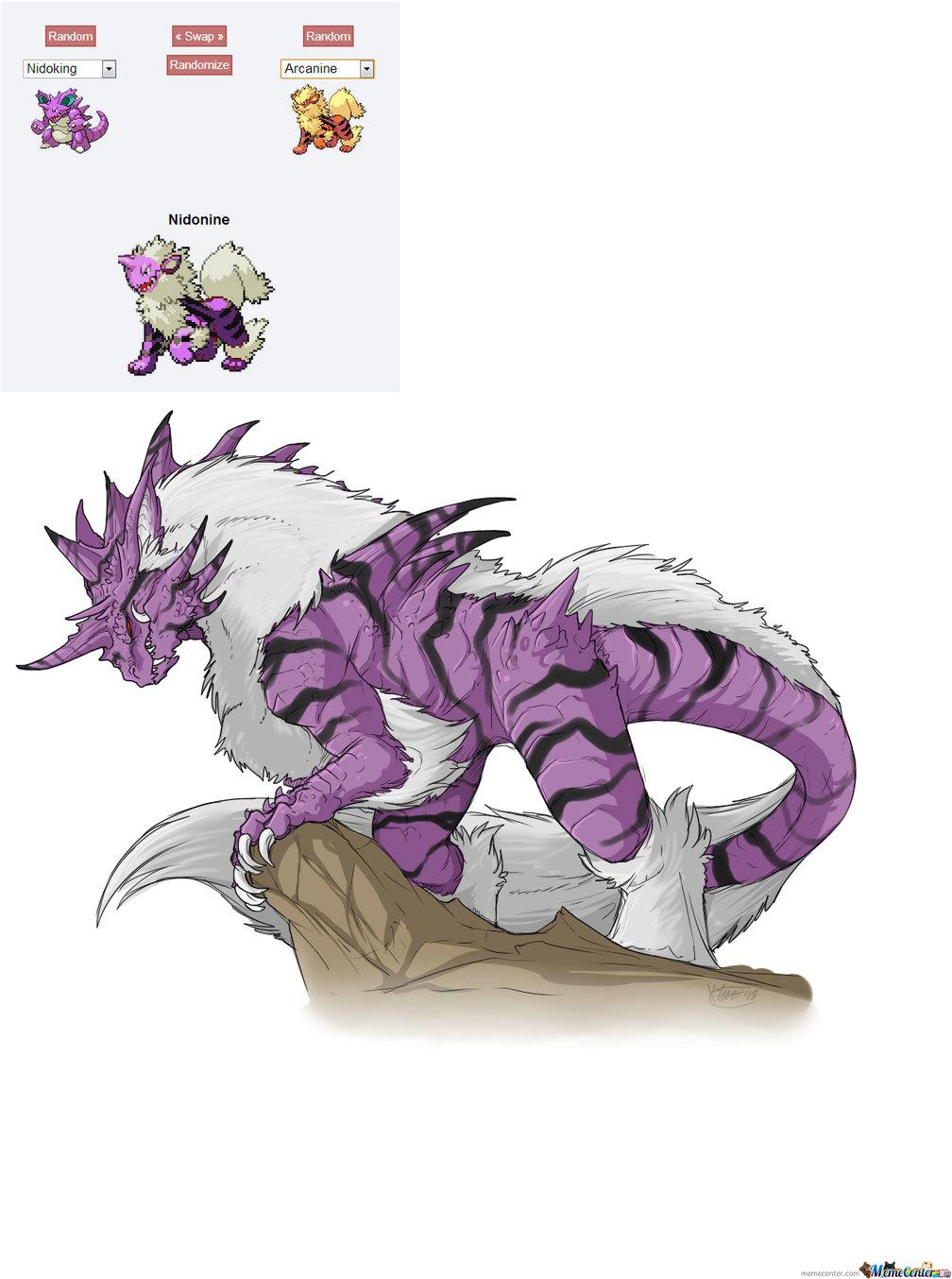 pokemon nidoqueen and nidoking breed - HD1101×1320