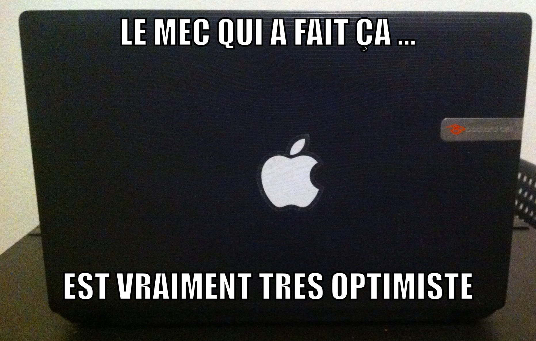 Ok apple ou packard Bell ? - meme