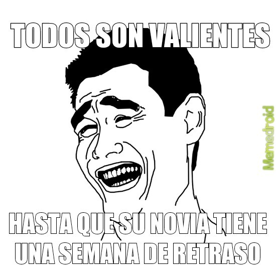 Valientes - meme