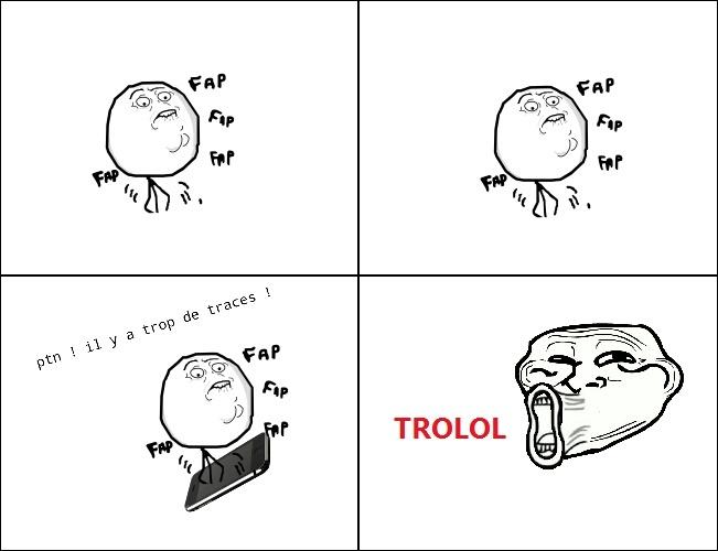 Trop de traces... - meme
