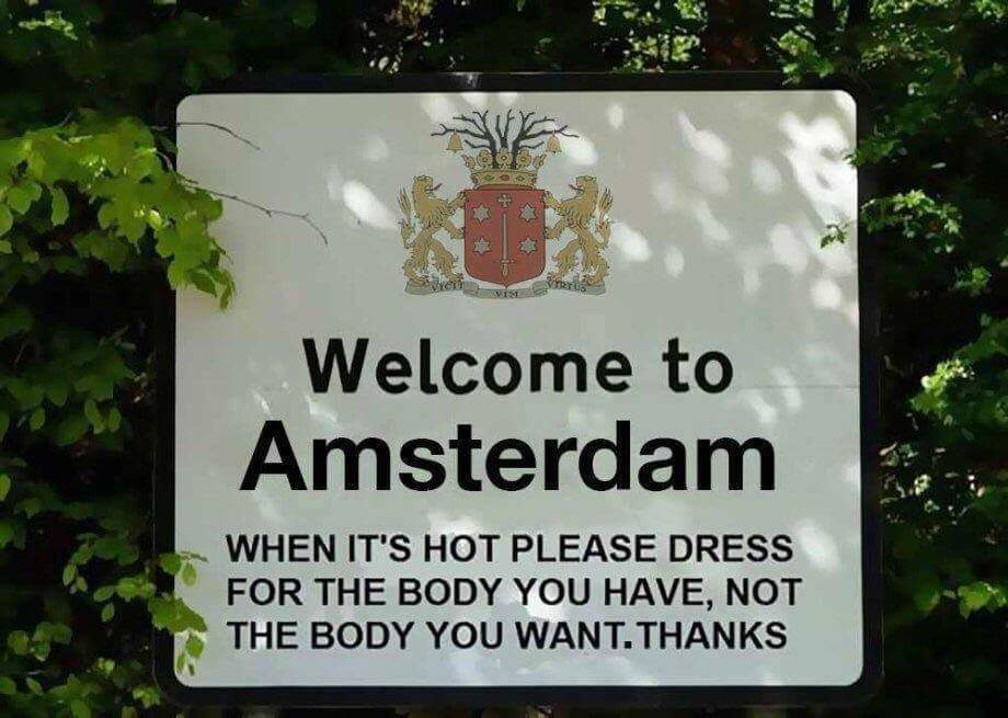 Only in Amsterdam - meme