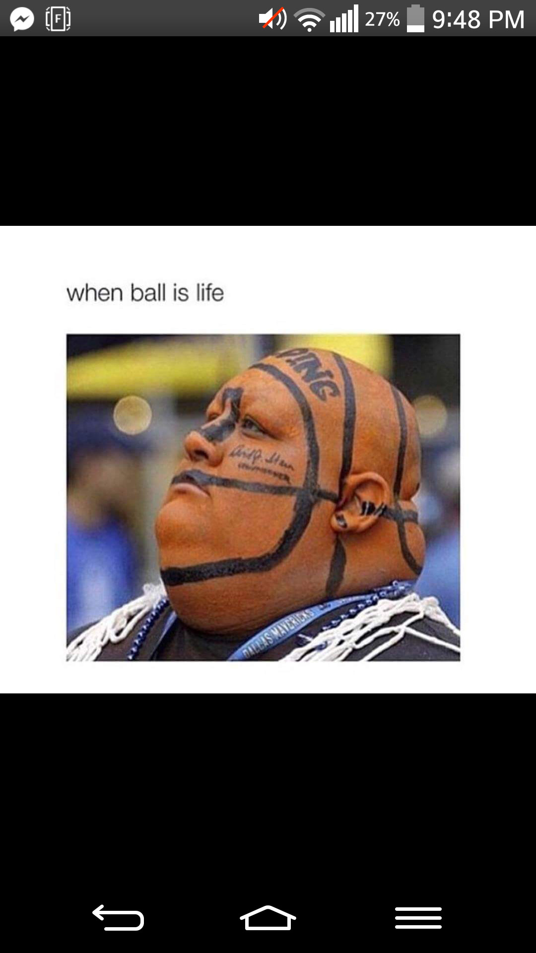 When Ball Is Life - meme