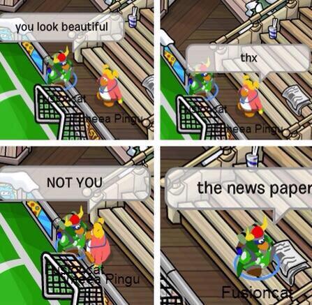 newspaper looking good - meme
