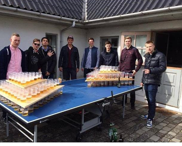 beer pong to the next level - meme