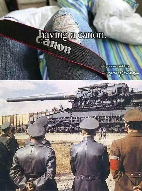 I love canons - meme