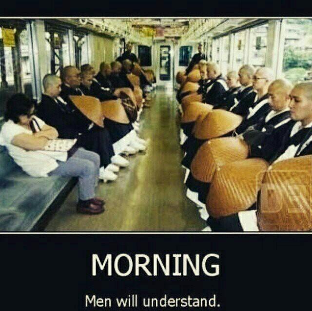 """""""Le matin"""" les hommes comprendrons - meme"""