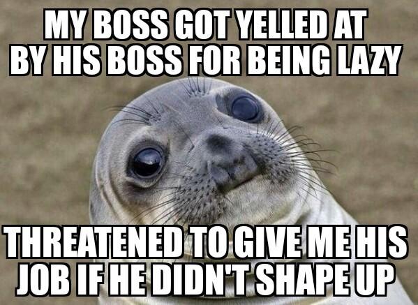 Thats was awkward.