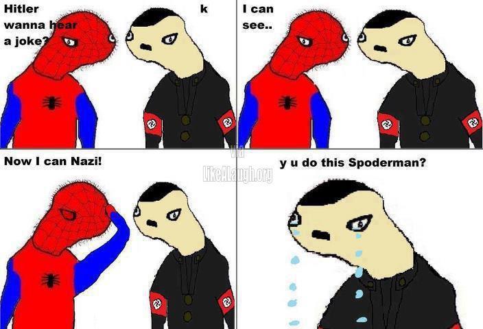 Spoderman pls - meme