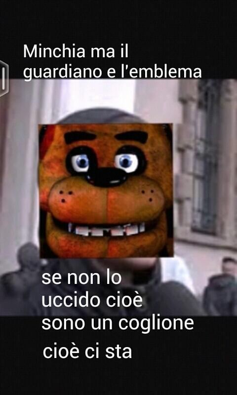 Freddy e l'emblema - meme