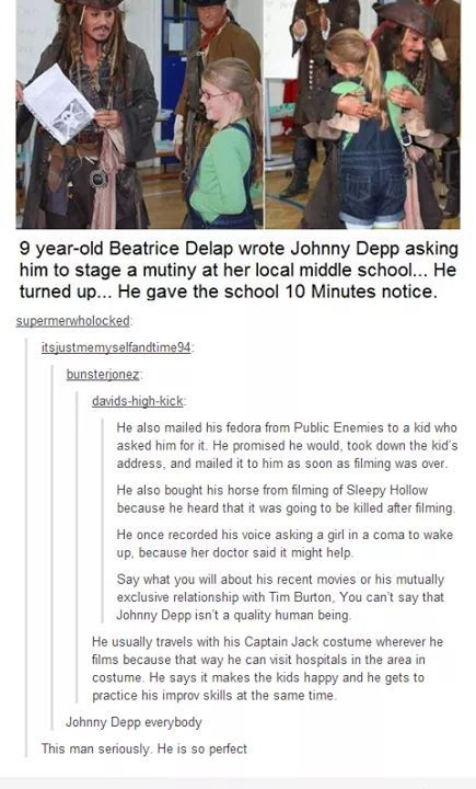Johnny Depp is Awesome - meme