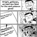 When making Pokemon OR AS