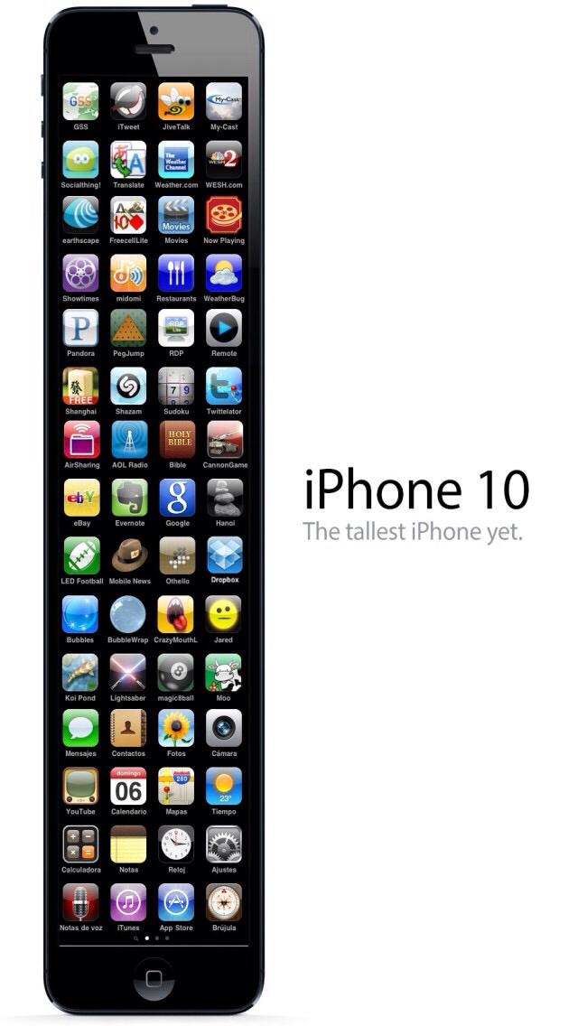 iPhone 10 avec ios6 bien sur - meme