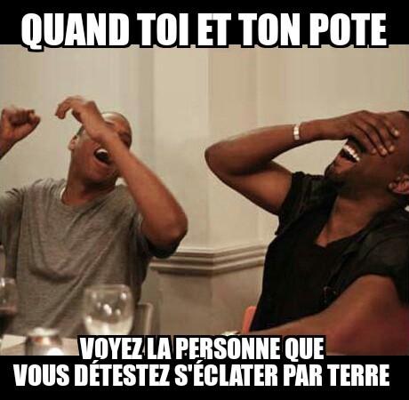 Toi et ton pote :) - meme