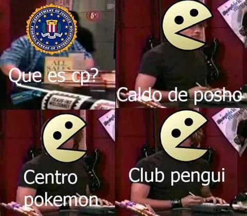 CP es algo feo ;n; - meme