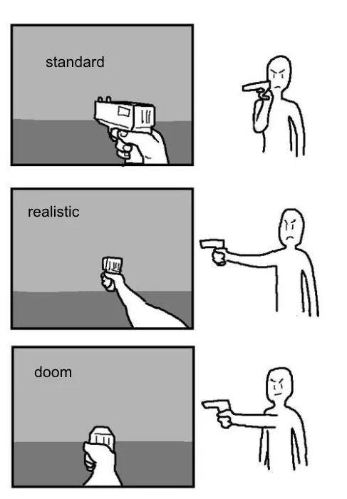 Tu como disparas? - meme